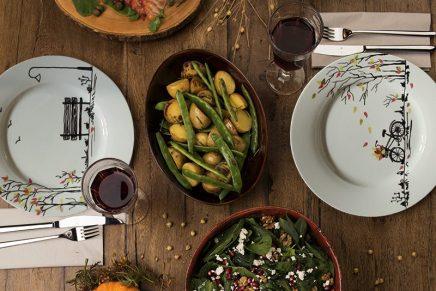 Personnalisez vos assiettes aux couleurs automnales