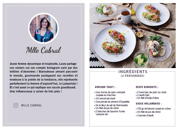 Recette Mlle Cabral
