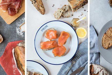 Labeyrie x Gontran Cherrier fêtent le pain