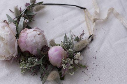 DIY Couronne de fleurs par Labeyrie x La Délicate Parenthèse