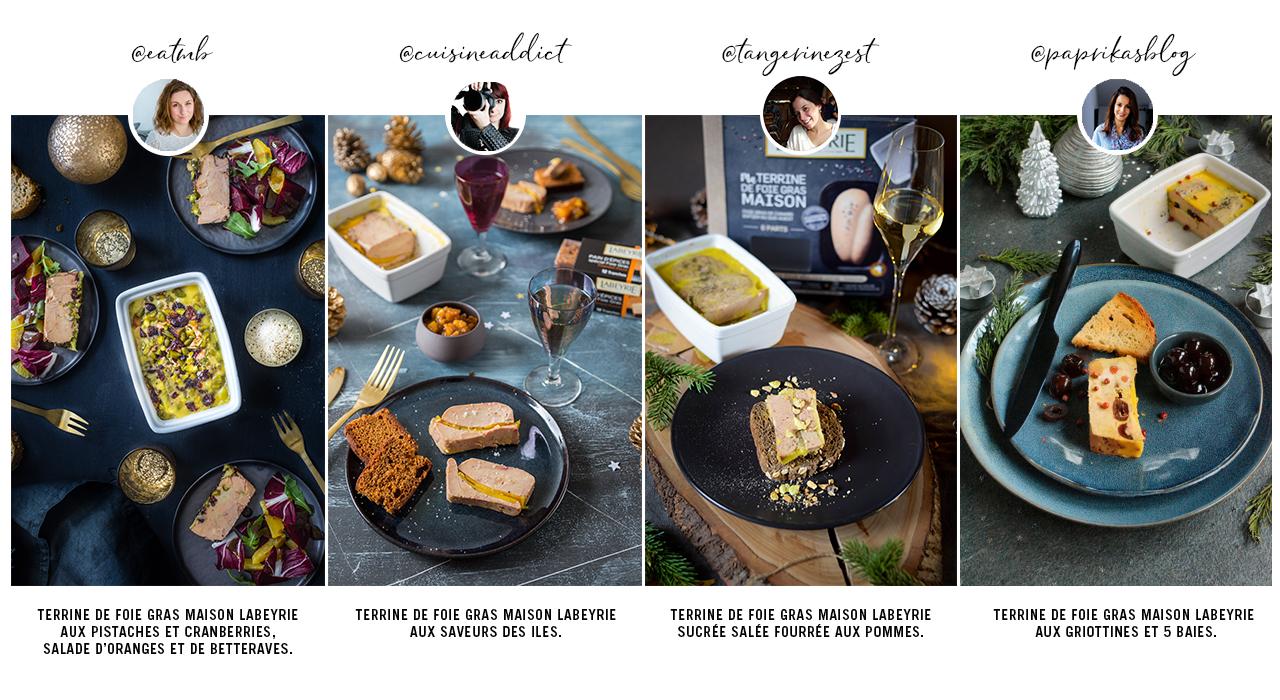 Recettes pour un kit Ma Terrine de Foie Gras Maison Labeyrie