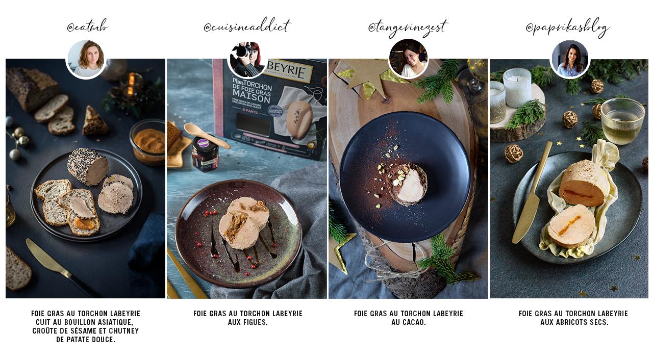 Recettes pour un kit Mon Torchon de Foie Gras Maison Labeyrie