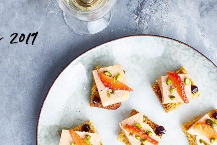 Recette : Bouchées de Foie Gras sucrées salées