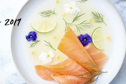Recette : Saumon Fumé Sauvage sur Gelée de citron vert