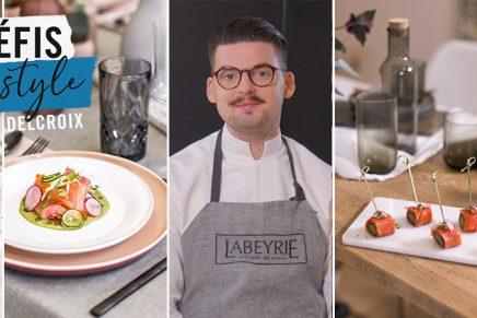 Les défis Food & Style avec Camille Delcroix