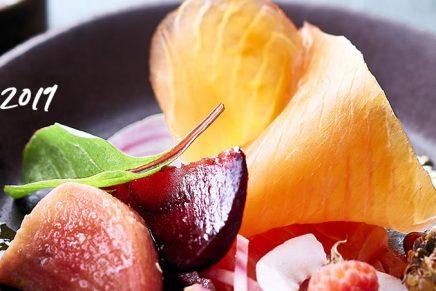 Recette : Saumon Fumé & betteraves glacées