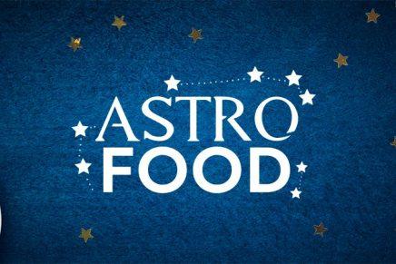 Les recettes Astro Food